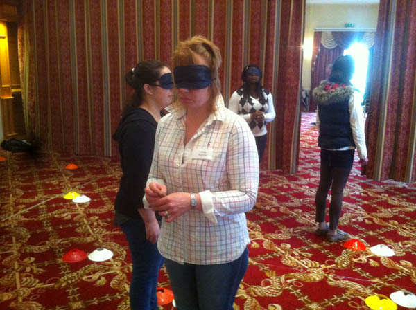 Crystal Challenge - Can you work blindfold