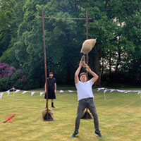 Sheaf Toss - Tossing the Sheath