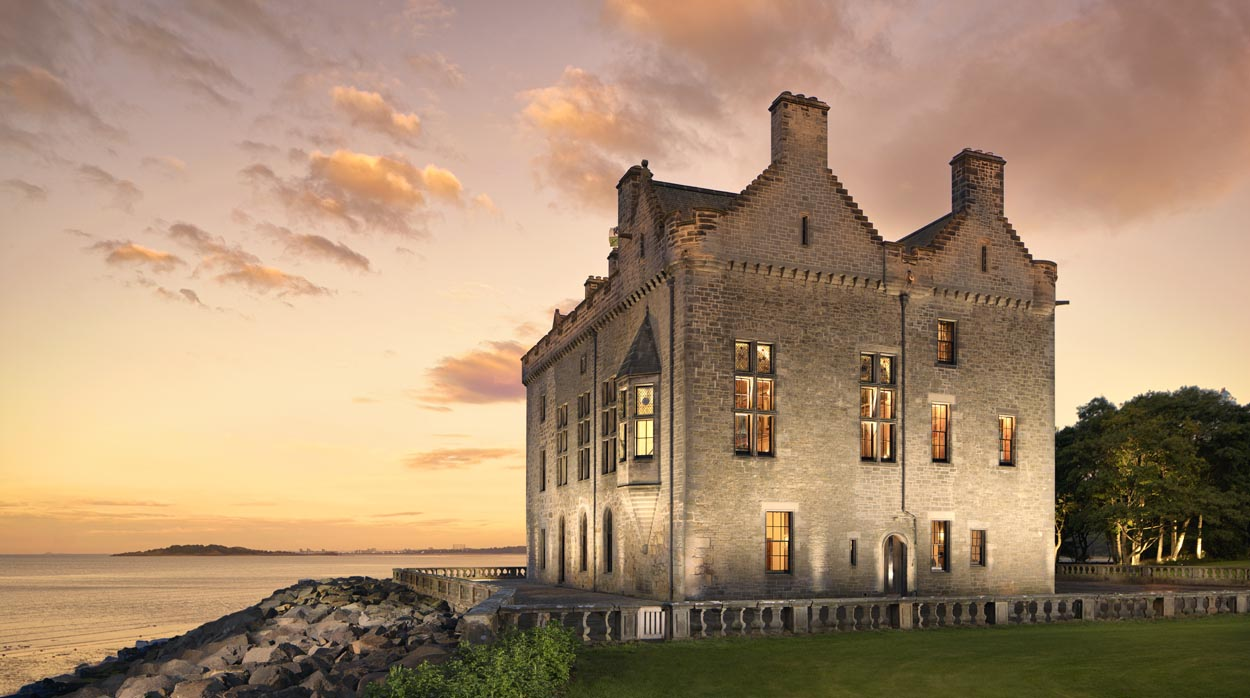 Barnbougle Castle, near Edinburgh